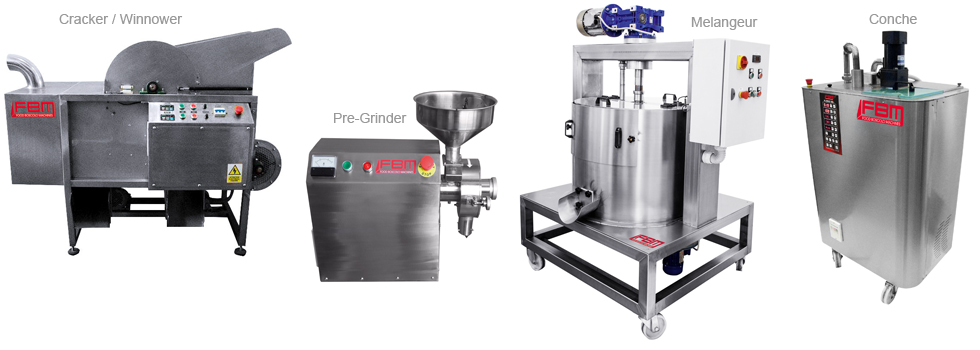 Machines for Bean-To-Bar Processing