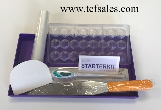 It's Here! Moulding Starter Kit for Chocolates