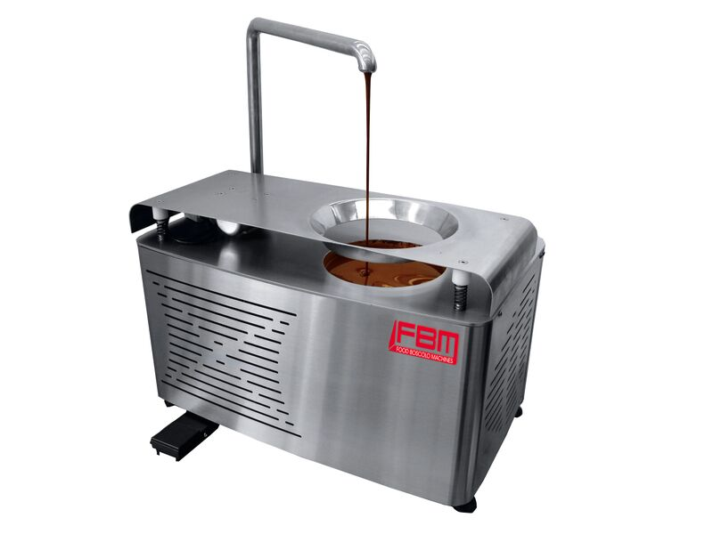 tabletop tempering machine
