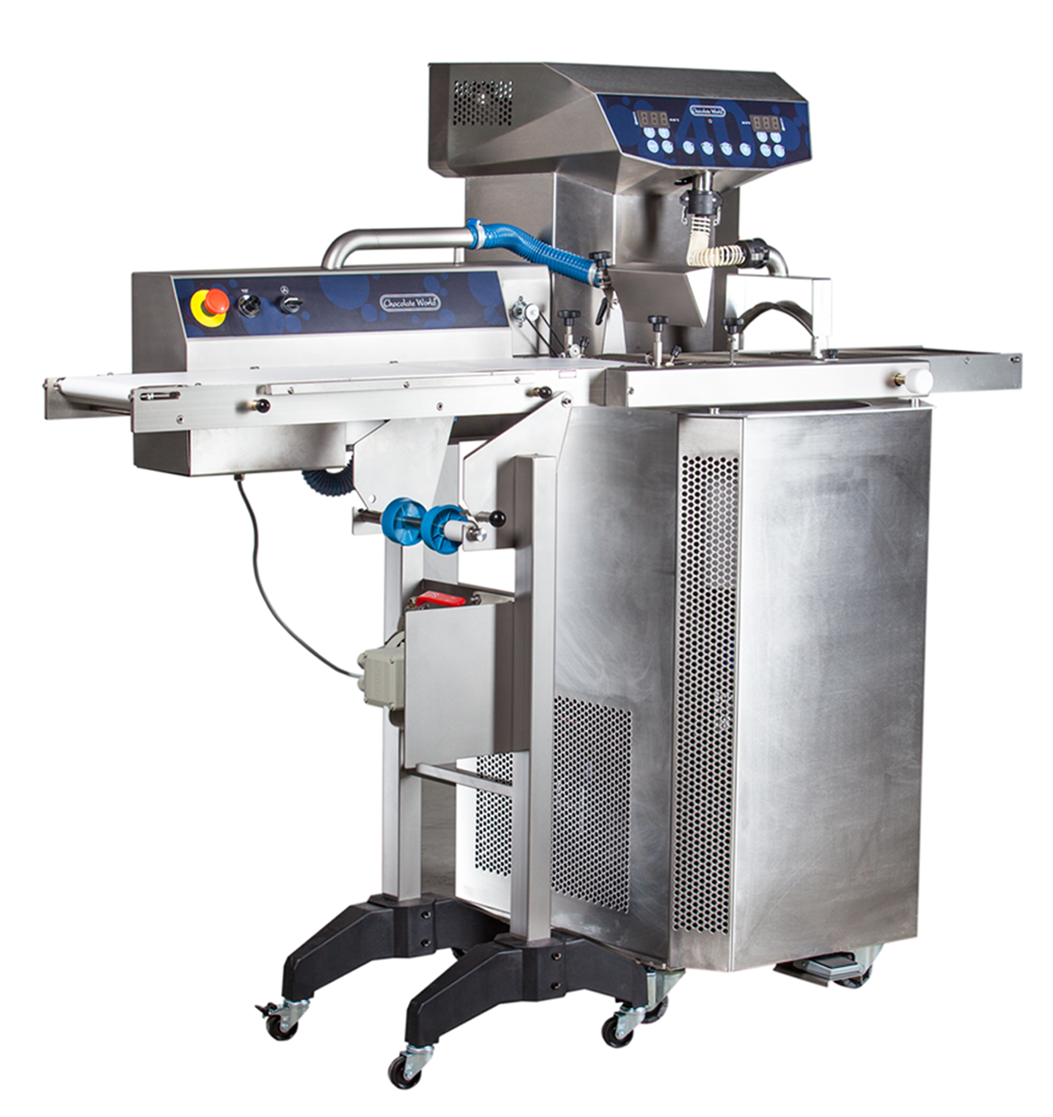 Chocolate World 40 kg Enrobing and Moulding