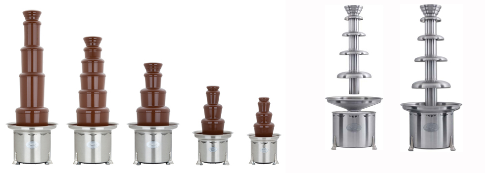 Commercial Chocolate Fountains
